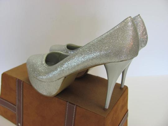 Other Size 9-10 M Very Good Condition Silver, Platforms Image 3
