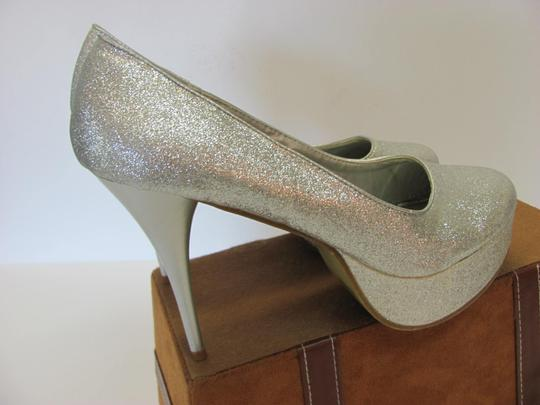 Other Size 9-10 M Very Good Condition Silver, Platforms Image 4