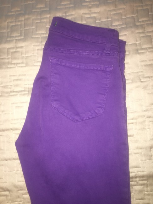 J Brand Trousers Ankle Length Skinny Jeans Image 2