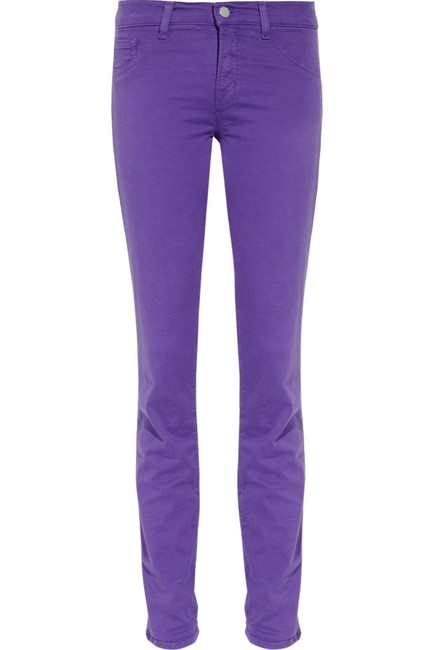 J Brand Trousers Ankle Length Skinny Jeans Image 4