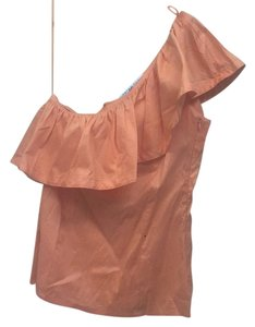 Trina Turk Top Light orange; sherbet