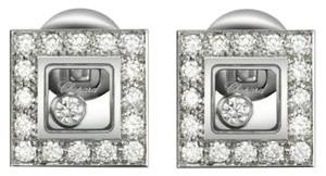 Chopard Chopard 18K White Gold Happy Diamond Earring 832896
