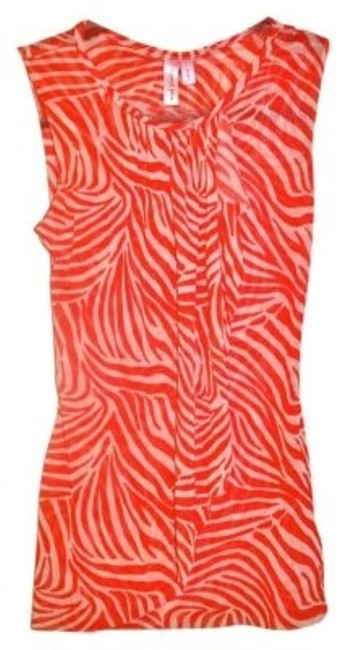 Preload https://item1.tradesy.com/images/sweet-pea-by-stacy-frati-reddish-orange-and-white-zebra-print-blouse-size-4-s-141975-0-0.jpg?width=400&height=650