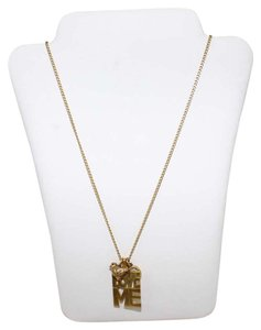 Juicy Couture Love Me Charm Neckle