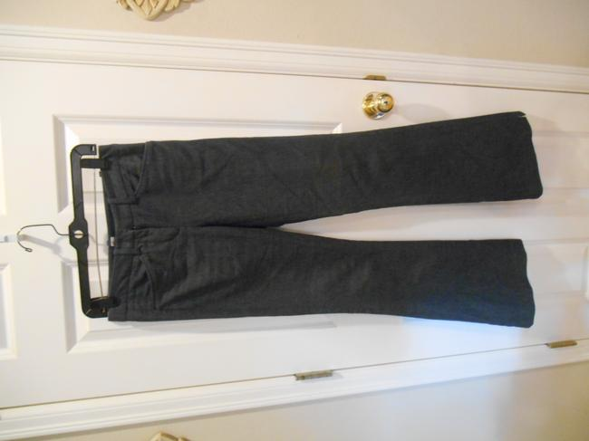 BCBGMAXAZRIA Max Azria High Pant 0 28 31 28 X 31 Size 0 Small Xs S Extra Small Pants Office Weekend Business Casual Trouser/Wide Leg Jeans-Dark Rinse Image 4