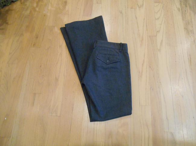 BCBGMAXAZRIA Max Azria High Pant 0 28 31 28 X 31 Size 0 Small Xs S Extra Small Pants Office Weekend Business Casual Trouser/Wide Leg Jeans-Dark Rinse Image 5