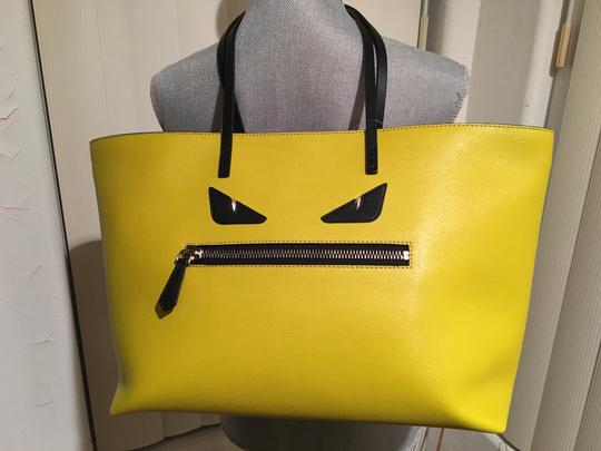 Fendi New Never Used Tote in Yellow