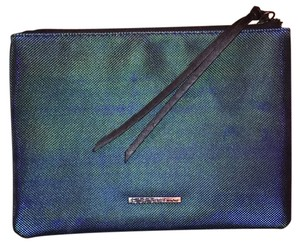 BCBGeneration Oiled Teal Clutch