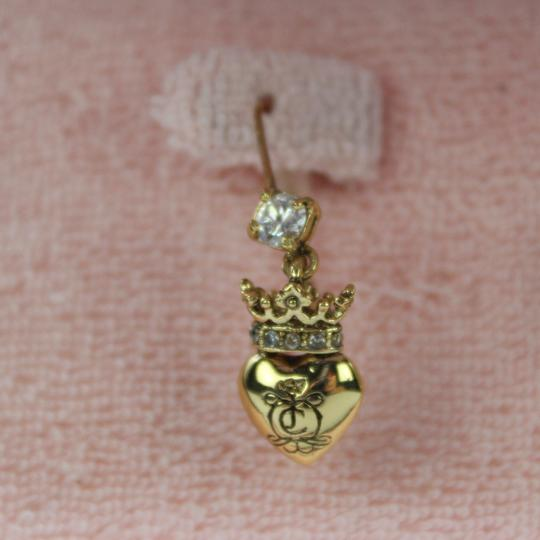 Juicy Couture Heart Charm Earings Image 1