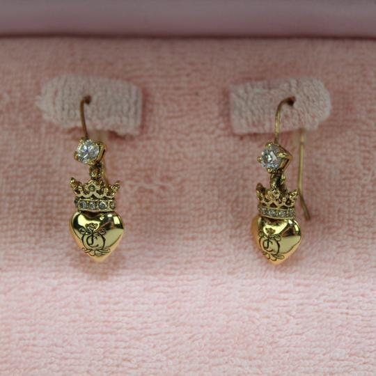 Juicy Couture Heart Charm Earings Image 3