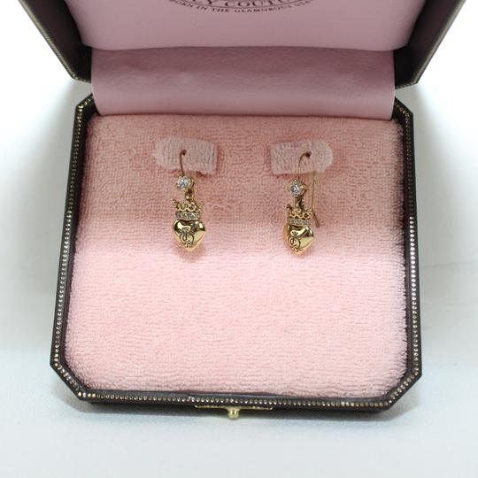 Juicy Couture Heart Charm Earings Image 4