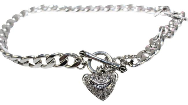 Item - Silver Tan Heart Charm Necklace