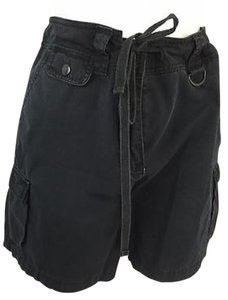 Jones New York Womens Sport Bermuda Shorts Black