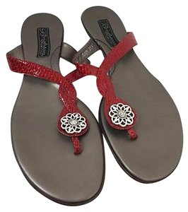 Brighton Womens Poetry Red Sandals