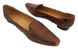 Tod's Size 37 Brown Flats