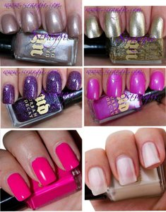 Urban Decay ROLLERGIRL Mini Nail Polish Collection LIMITED EDITION Kit