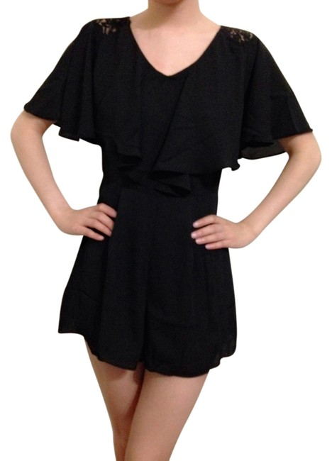 Preload https://img-static.tradesy.com/item/14199502/-and-other-stories-black-above-knee-romperjumpsuit-size-4-s-0-1-650-650.jpg