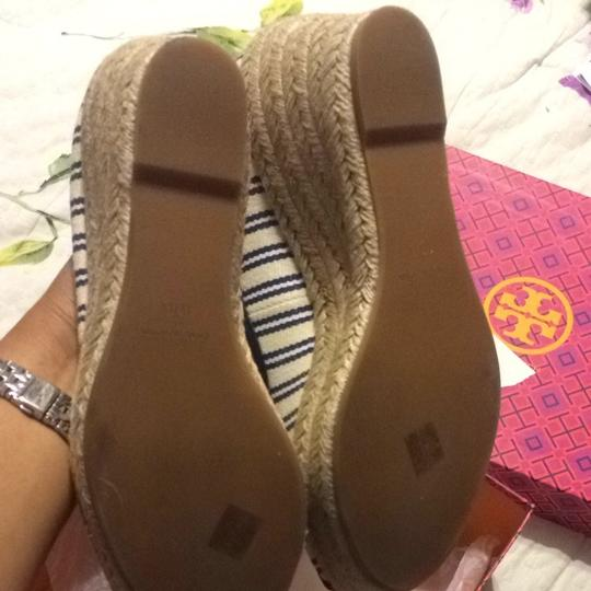 Tory Burch Striped Wedges