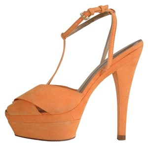 Zara orange Pumps
