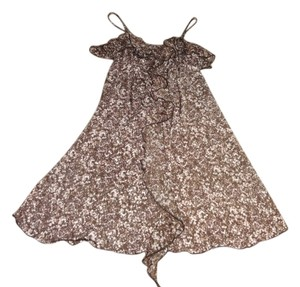 Candie's short dress Brown Xs Xs Size 2 Size 4 Size 2 Size 4 Size 0 Xs Size Xs on Tradesy