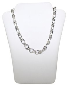 Brooks Brothers 346 Silver Tone Necklace