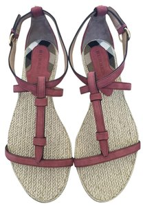 Burberry pale rosewood Sandals
