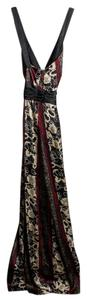 Etro Mulitcolor Silk Long Dress
