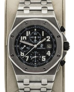 Audemars Piguet AP ROYAL OAK OFFSHORE BLACK THEME STAINLESS STEEL 25721ST.OO.1000ST.08.A