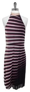 Vivienne Westwood Striped Halter Nylon Dress