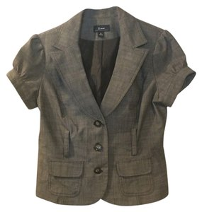 Byer California Button Down Shirt light grey/ brown