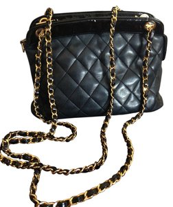 Chanel Quilted Leather Vintage Cross Body Bag