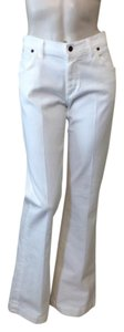 Citizens of Humanity Wide Leg Pants White