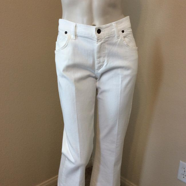 Citizens of Humanity Wide Leg Pants White Image 1