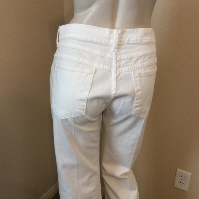 Citizens of Humanity Wide Leg Pants White Image 5