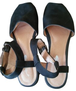 Jeffrey Campbell Wedge Free People Sandal Black Platforms