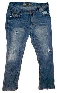 WallFlower Size 16 Size 16 Size Xl Relaxed Fit Jeans-Distressed