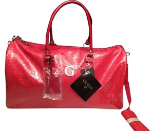 Guess Coral/Red/Pink Travel Bag