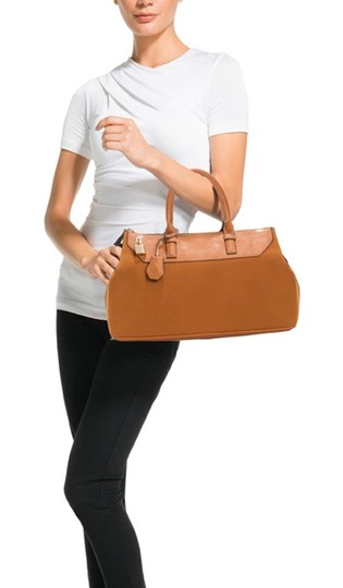 JustFab Faux Leather Shoulder Bag