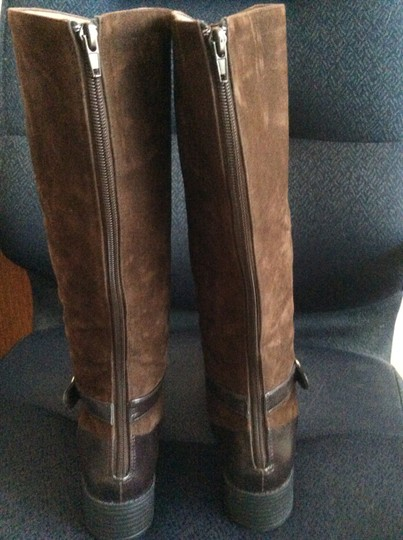 Annie Aristone Brown Antique Boots