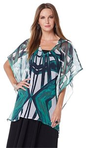 Curations Oversized Batwing Tunic