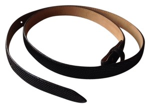 Jack Embossed Suede Belt