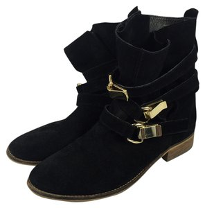 Steve Madden Haggle Size 9 black Boots