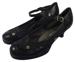 Dries van Noten Mary Janes Vintage Size 6.5 black Pumps