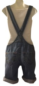 True Religion Shortalls Shorts Denim