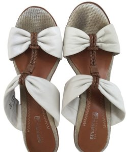 Sperry Cream Wedges