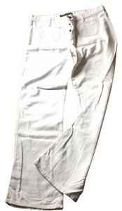 Abercrombie & Fitch Corduroy Flare Pants Ivory Corduroy
