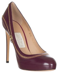 Salvatore Ferragamo Bordeaux Pumps