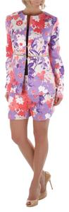 SISTE'S New SISTE'S italian Designer Blazer and Shorts Suit Floral Print