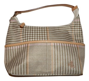 Lauren Ralph Lauren Houndstooth Hobo Bag