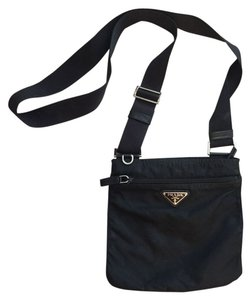 Prada Nylon Wallet Set Cross Body Bag
